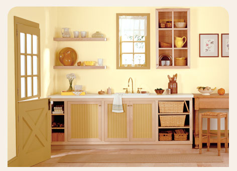Kitchen accessories for Yellow kitchen colors