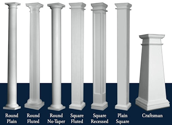 Pillars In Living Rooms