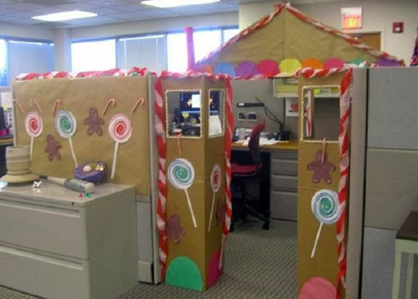 decorate office cubicles, office holiday decor ~ 115046_Ideas For Christmas Decorations In Office Cubicle