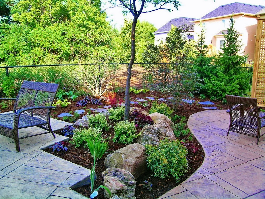 Beautiful backyards garden ideas for Beautiful landscaping ideas