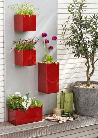 Front Yard Decor Container Planters