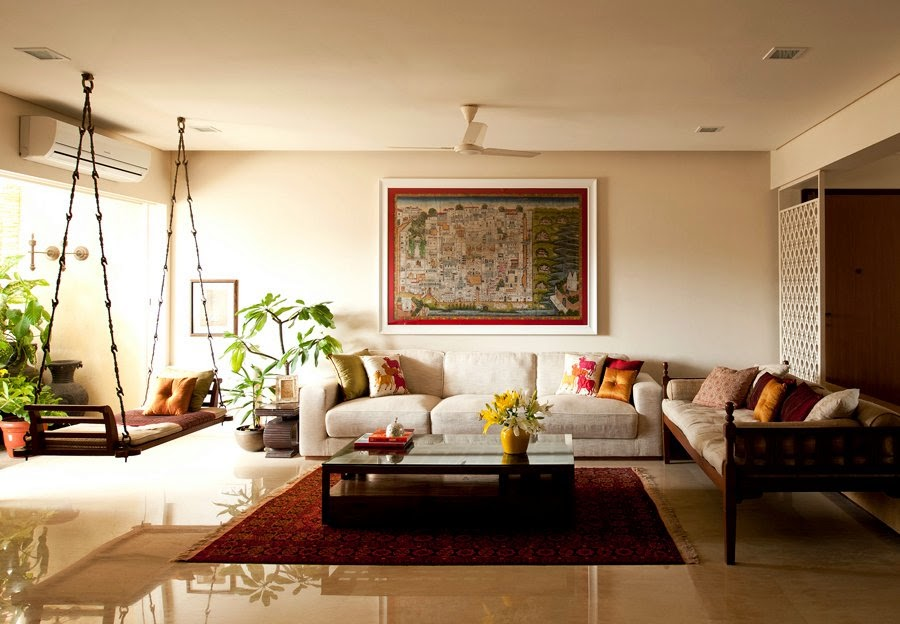 Traditional indian homes home decor designs for Living room ideas indian