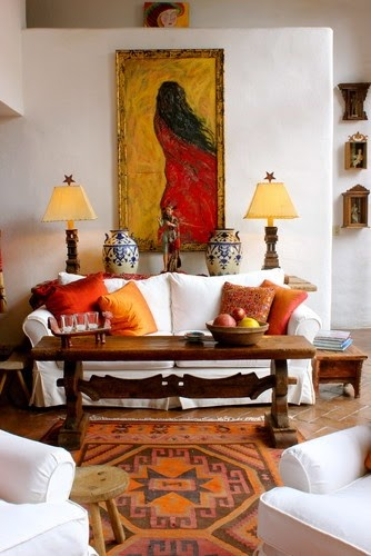 Spanish style interiors Spanish home decorating styles