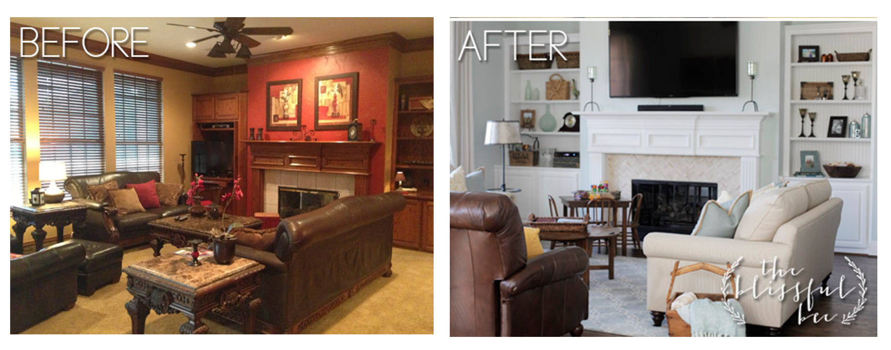 before and after living rooms living room remodels 18143